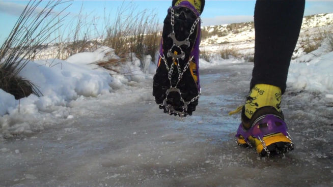 Zimowe buty do biegania